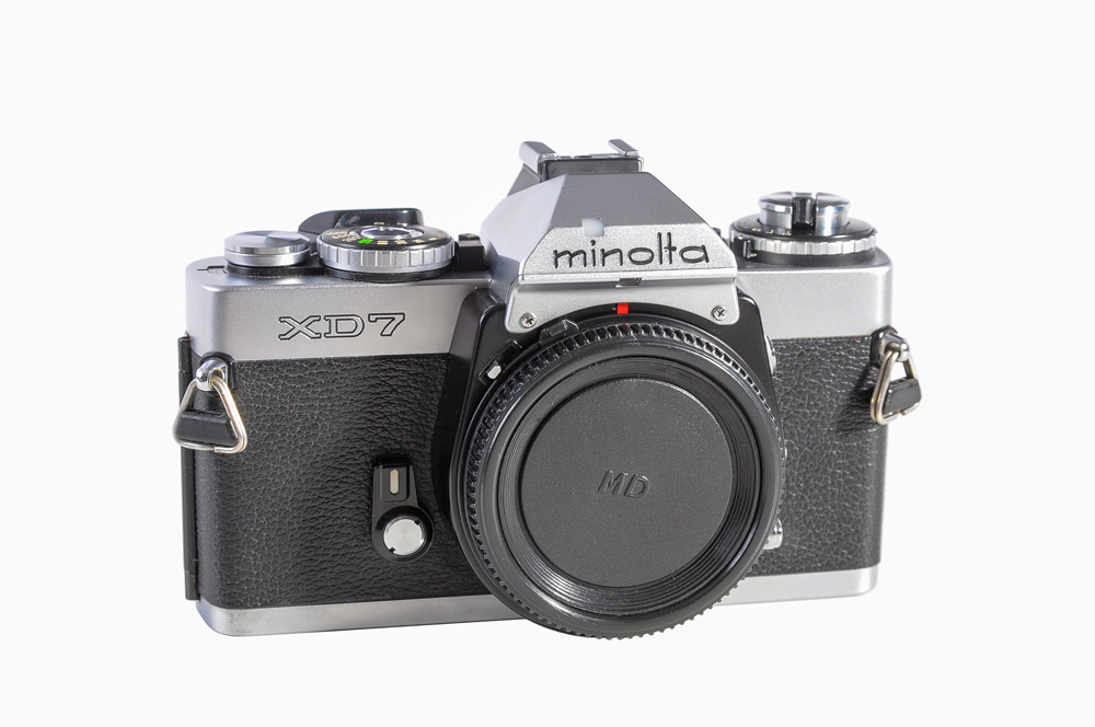 how to use minolta xd7