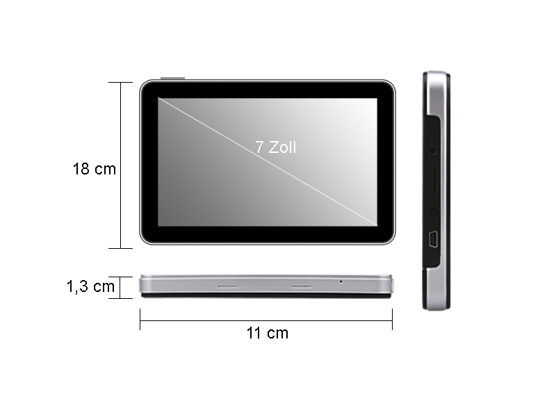 auto gps navigationsger t navi 7 zoll mp3 video player. Black Bedroom Furniture Sets. Home Design Ideas